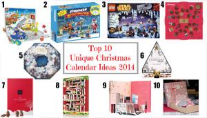 10 Must Have Unique Advent Calendars 2014