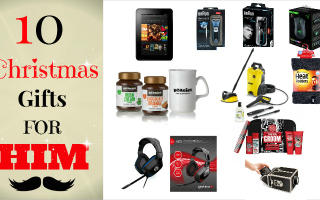 10 gifts for him christmas 2014
