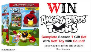 #WIN 1 of 2 Angry Birds Toons – SEASON 1 (Vol 1 & 2) Gift Set