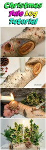 Easy Christmas Crafts for Kids – Tutorial YULE Log