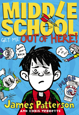 Middle School Lets get out of here! by james patterson book cover