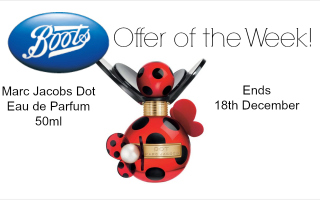 boots offer of the week marc jacobs dot eau de parfum 50ml