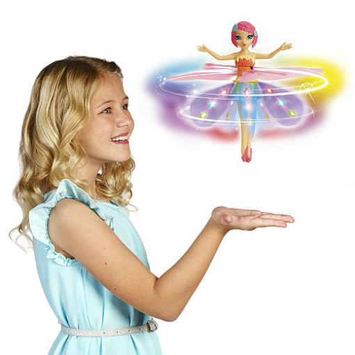 christmas gifts for kids Flutterbye Deluxe Light Up Rainbow Fairy