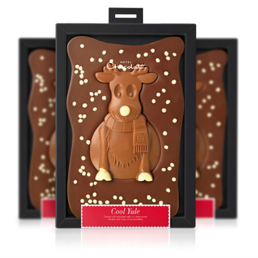 christmas gifts for kids Hotel Chocolat Cool Yule Christmas Slab