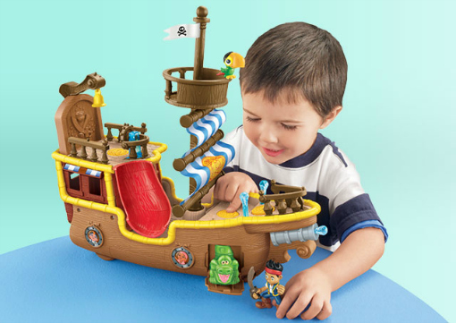 christmas gifts for kids Jake and the Neverland Pirates Bucky Pirate Ship