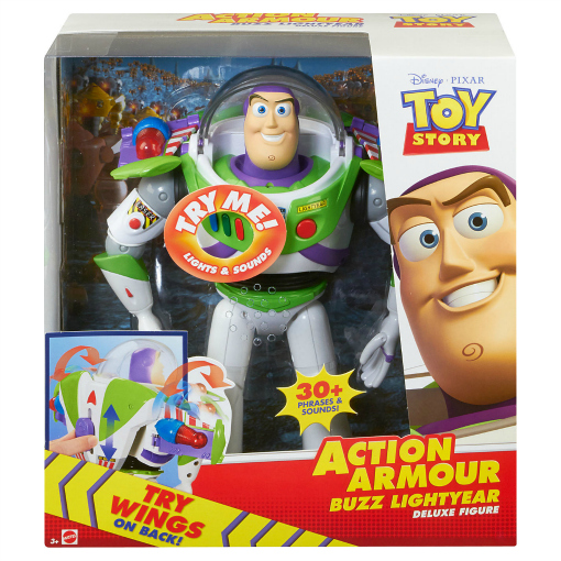 christmas gifts for kids toy story buzz lightyear action armour