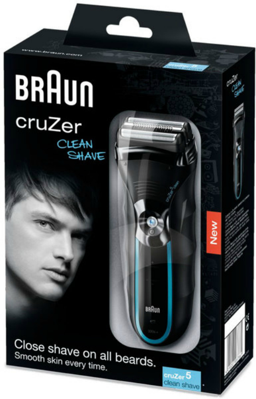 gifts for him braun cruzer clean shave
