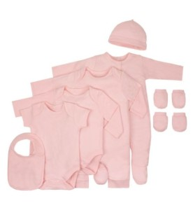 Boots Deals – Baby Basics Pink 8 Piece Set – Mini Club