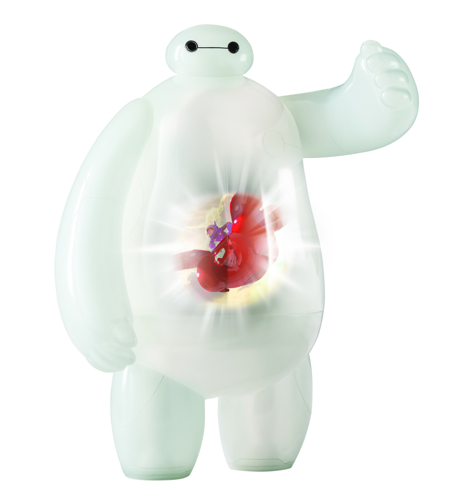 Disney Big Hero 6 action figures Projection Baymax Toy