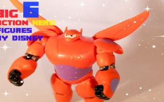 Big Hero 6 action figures review