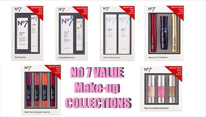 Boots Deals - Half Price No7 Make-Up Collections