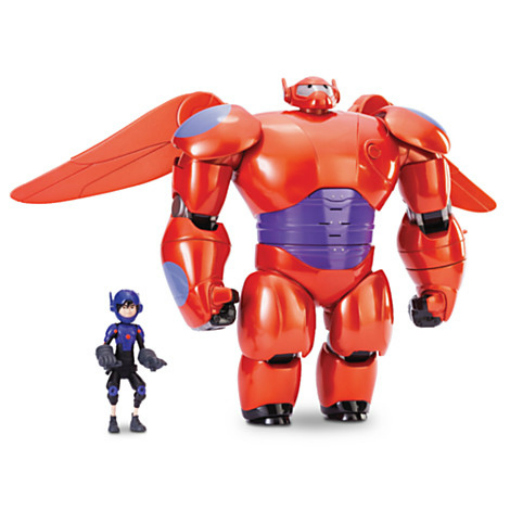 Disney Big Hero 6 action figures Deluxe Baymax Mech Action Figure