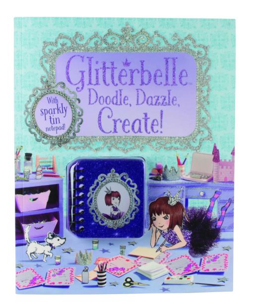 Glitterbelle Doodle Dazzle Create Cover_UK