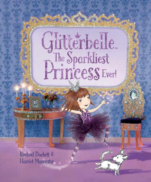 Glitterbelle The Sparkliest Princess Ever_Cover UK