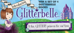 WIN a set of 4 New Glitterbelle Childrens books