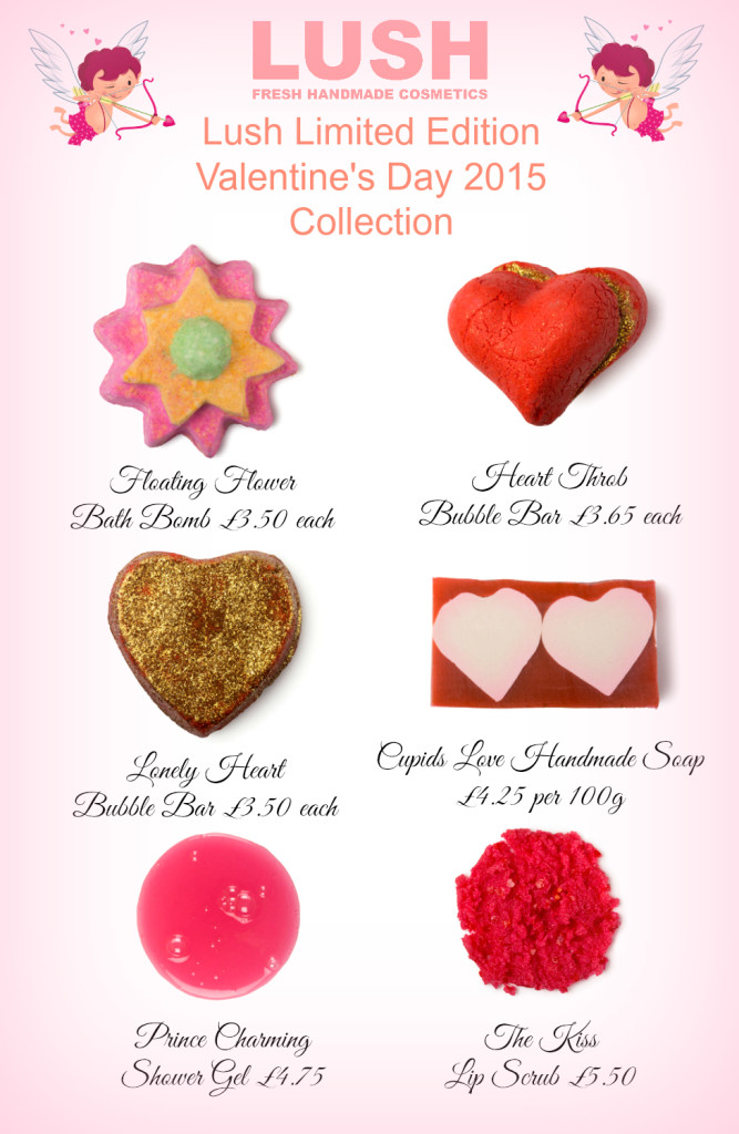 Lush Limited Edition Valentine's Day 2015 Collection Pinterest