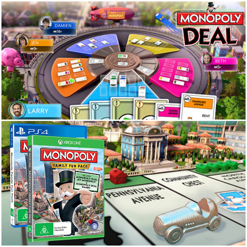Monopoly Family Fun Pack - PS4 Review