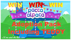 #Win Pacca Alpaca – Adoption Pack Includes Teddy!