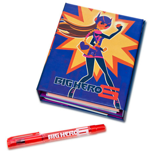 Disney Big Hero 6 action figures Fold-Out Journal