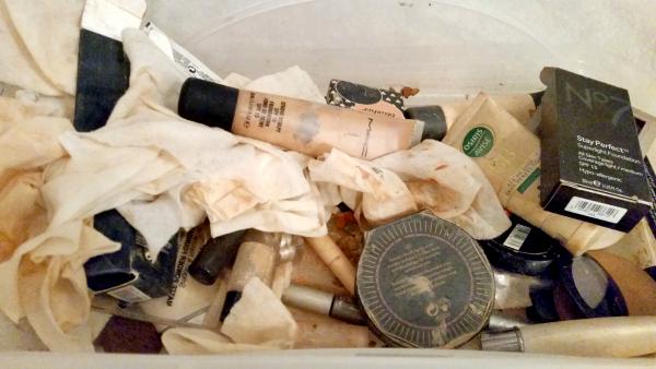 makeup tips and tricks discarded makeup