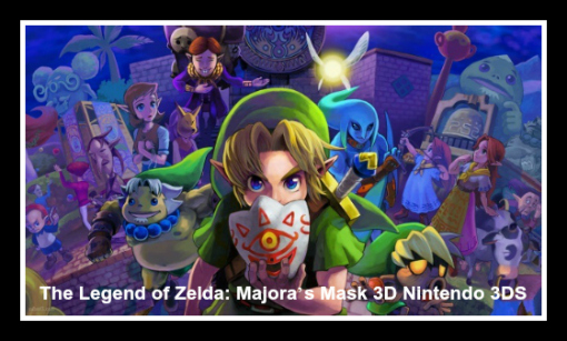 new games list 2015 updated the legend of zelda majoras mask 3ds