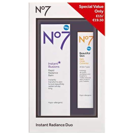 Boots Deals No7 Instant Radiance Duo