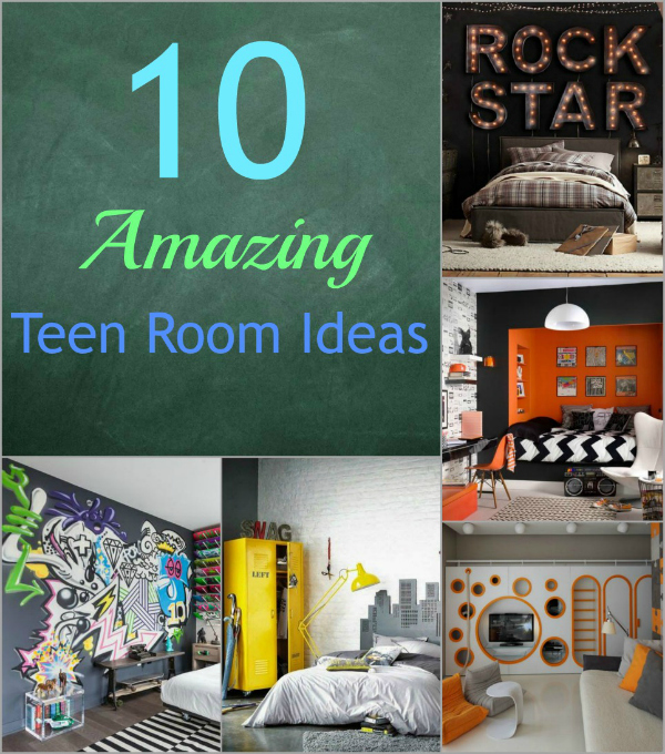 10 Teen Room Ideas - To keep your Boys Happy