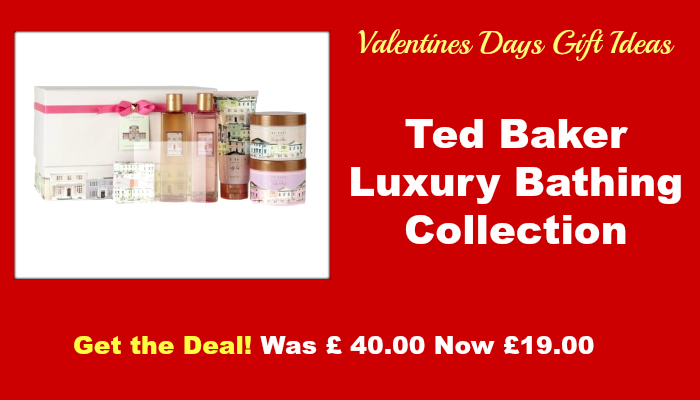 Boots Deals Ted Baker Luxury Bathing Collection