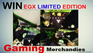 Win EGX Limited Edition Gaming Merchandise