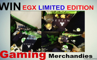 EGX Gaming merchandise competition