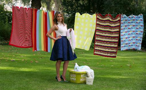 Dettol Baby Blanket Campaign - Rachel Stevens