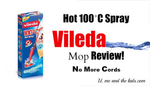 Vileda Spray Mop Hot 100˚C Steam Alternative
