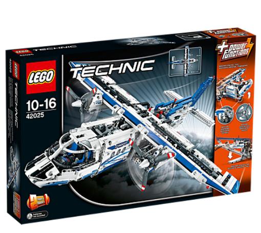 LEGO Technic Cargo Plane Set - 42025