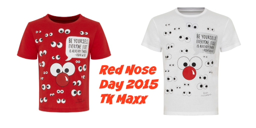 Red Nose Day 2015 - TK Maxx official Limited Edition T-shirts