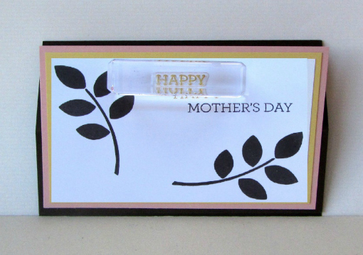 How to make a Mother's Day card - Step 3