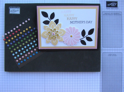 How to make a Mother's Day card - Step 7
