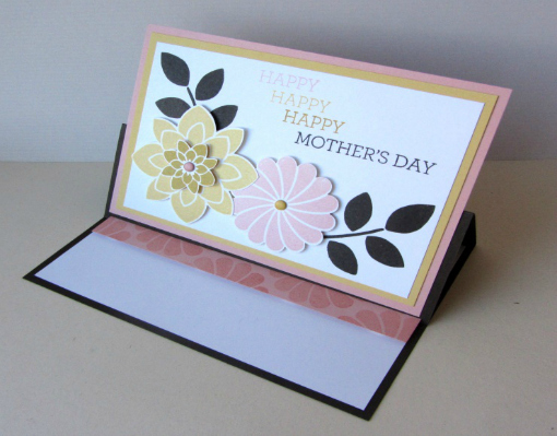How to make a Mother's Day card - Finished Mothers day card