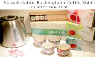 Russell Hobbs Buckingham Kettle Shhh! quieter boil test featured