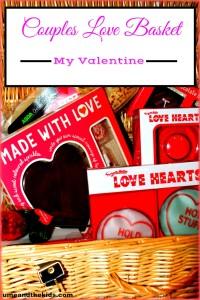 Valentines Day Ideas – DIY Couples Love Basket