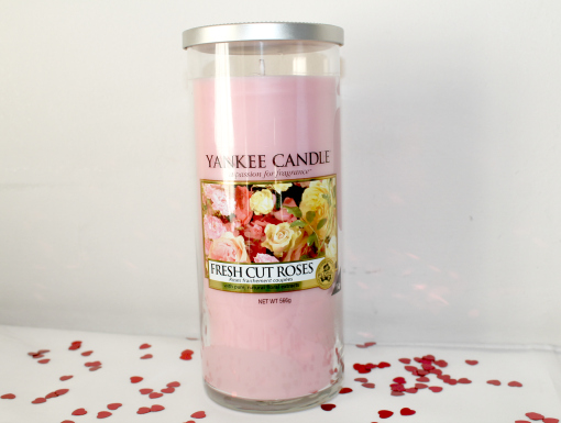 Valentines Gifts for Her Fresh Cut Roses Large Pillar