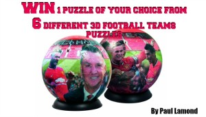 Win a Football Puzzle ball by Paul Lamond Games