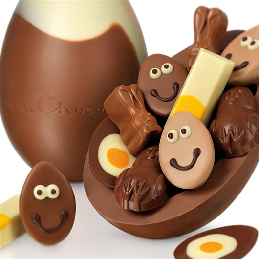 Easter Eggs 2015 Hotel Chocolat - You Crack Me Up Extra Thick Easter Egg
