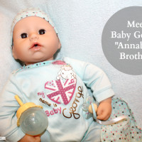 Baby Annabell Brother George - Who looks A little like Royalty