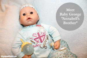 Meet Baby Annabell Brother George