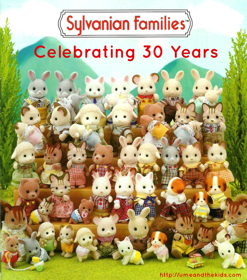 Happy 30th Anniversary Sylvanian Families