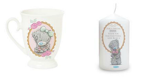 Mothers Day Gift ideas by Me to You Wonderful personalised cup and candle