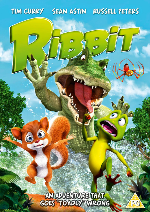 Family Movies Ribbit Movie Review - an adventure that goes 'taodly' wrong dvd cover