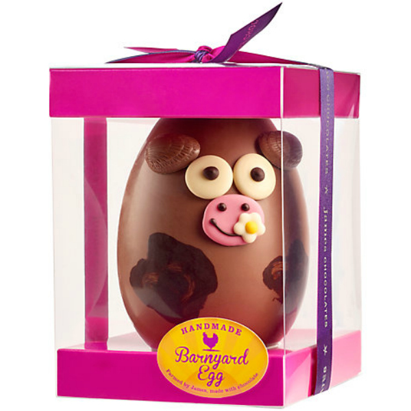 Easter Eggs 2015 James Chocolates Large Cow Easter Egg