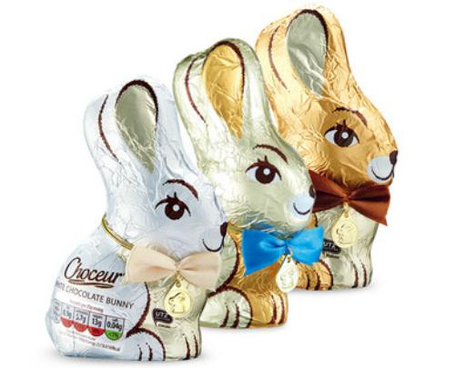 Easter Eggs 2015 Aldi Chocolate Bunny