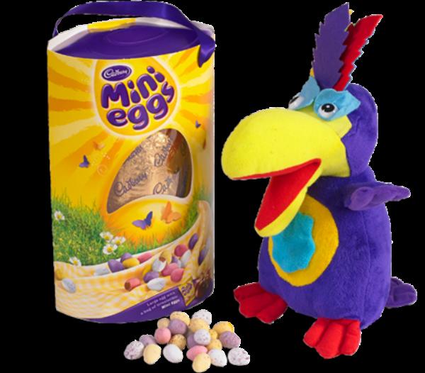 Easter Eggs 2015 Cadbury Parrot & Mini Eggs Easter Egg